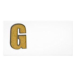 Bling Gold G Bilderkarten