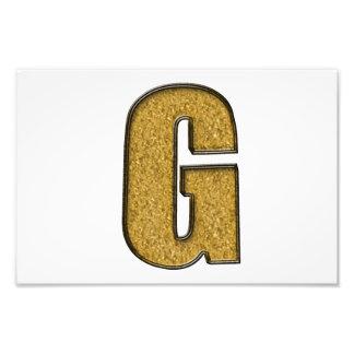 Bling Gold G Fotos