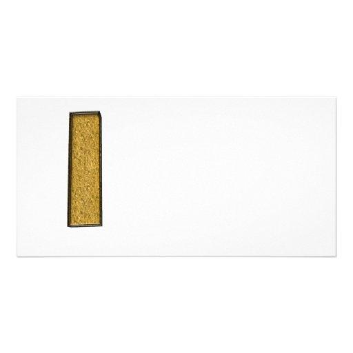 Bling Gold I Foto Grußkarte