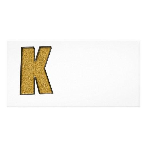 Bling Gold K Photokarten