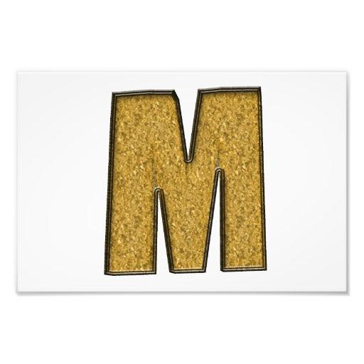 Bling Gold M Fotodruck