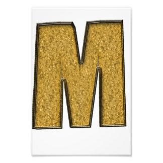 Bling Gold M Foto Drucke