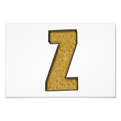Bling Gold Z Foto