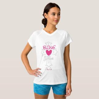 Bling Leben I Bling für Doppelt-Trockenen T - T-Shirt