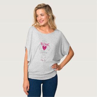 Bling Leben I Bling für Jesus-Kreis-Spitzen-Shirt T-Shirt