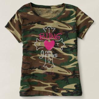 Bling Leben I Bling für Jesus-Tarnungs-T - Shirt