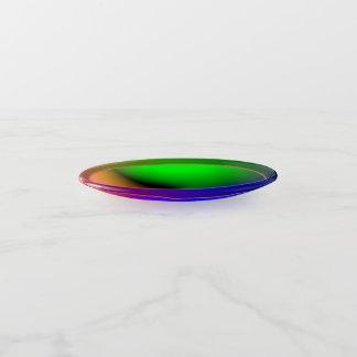Bling mehrfarbiger Glüheneffekt > Trinket-Behälter Dekoschale
