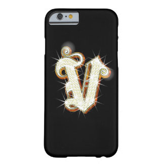 Bling Monogramm V iPhone 6 Fall Barely There iPhone 6 Hülle