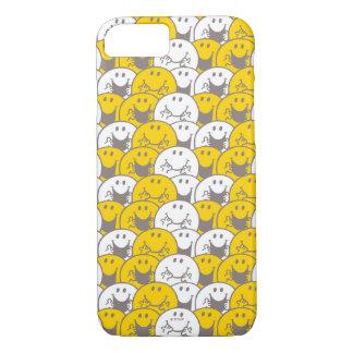 Blinkendes Lächeln-Muster Herr-Happy   iPhone 8/7 Hülle