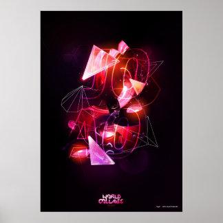 Blinklichter Poster