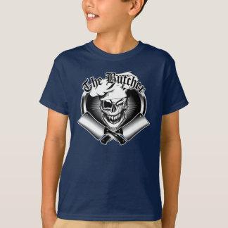 Blinzeln des Metzger-Schädels T-Shirt