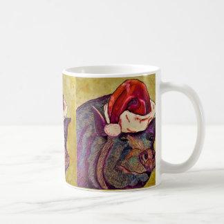 Blinzeln piggy kaffeetasse