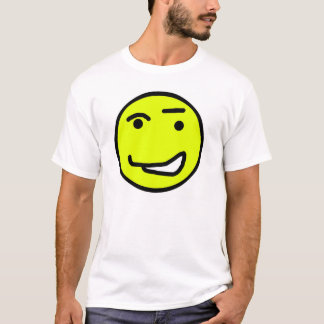 Blinzeln von smiley T-Shirt