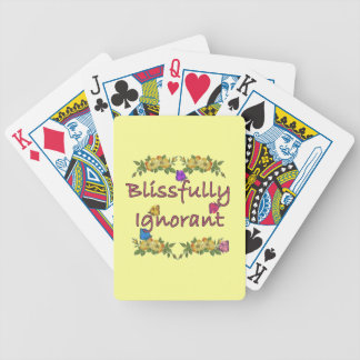 Blissfully ignorant poker karten