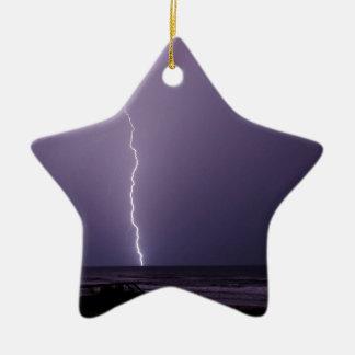 Blitz auf Ozean Keramik Ornament