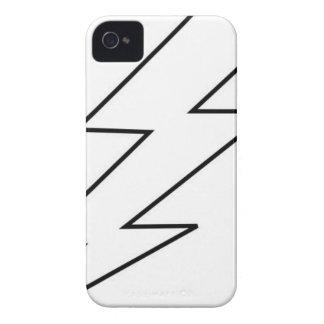 Blitz bolta iPhone 4 Case-Mate hüllen