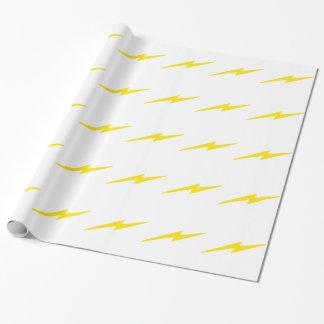 Blitz-Bolzen Geschenkpapier