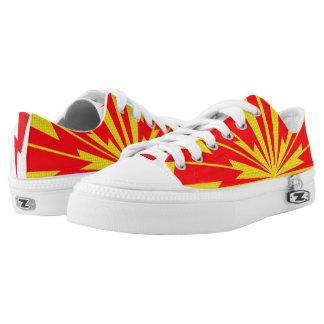 Blitz-Bolzen-Turnschuhe Niedrig-geschnittene Sneaker