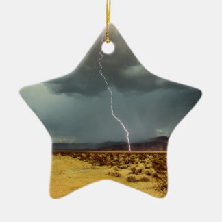Blitz-Joshua-Baum-Farbe Keramik Stern-Ornament