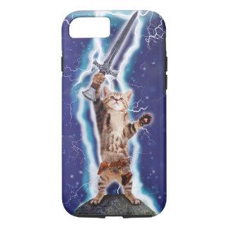 Blitz-Katze iPhone 8/7 Hülle