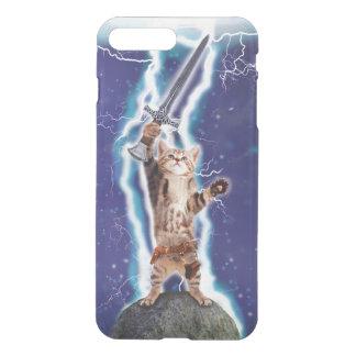 Blitz-Katze iPhone 8 Plus/7 Plus Hülle