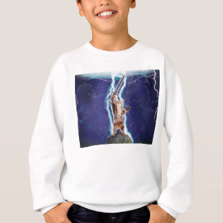 Blitz-Katze Sweatshirt