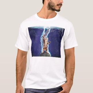 Blitz-Katze T-Shirt