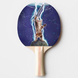 Blitz-Katze Tischtennis Schläger
