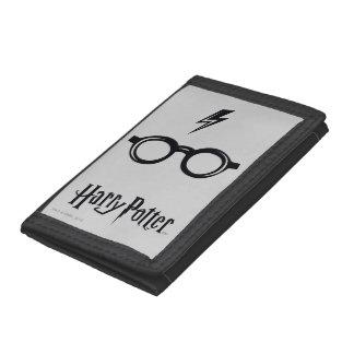 Blitz-Narbe und Gläser Harry Potter-Bann-|
