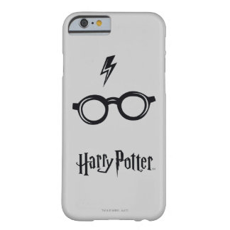 Blitz-Narbe und Gläser Harry Potter-Bann-| Barely There iPhone 6 Hülle