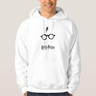 Blitz-Narbe und Gläser Harry Potter-Bann-| Hoodie