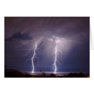 Blitz über Half Moon Bay Karte
