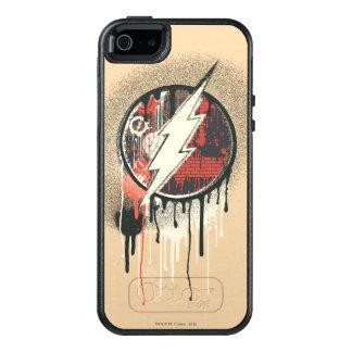 Blitz - verdrehtes Unschulds-Symbol 2 OtterBox iPhone 5/5s/SE Hülle