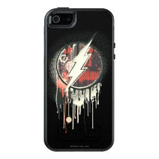 Blitz - verdrehtes Unschulds-Symbol OtterBox iPhone 5/5s/SE Hülle