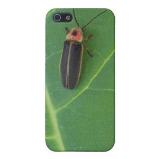 Blitz-Wanze auf Blatt Hülle Fürs iPhone 5
