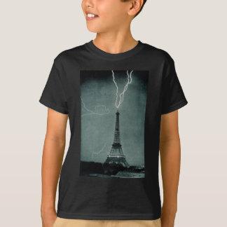 Blitzschläge der Eiffelturm, 1902 T-Shirt