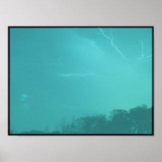 Blitzschläge (Sciencefiction) Plakat