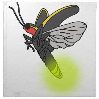 Blitzwanzenflug 2 beleuchtet stoffserviette