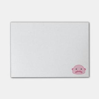 Blobfish 4 x 3 Post-Itanmerkungen Post-it Klebezettel