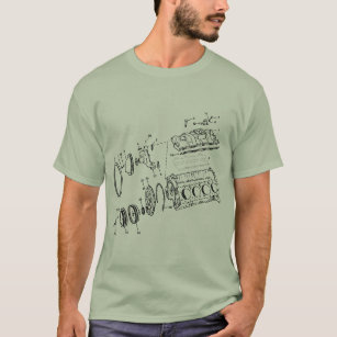 Block des Motor-454ci T-Shirt