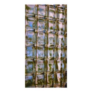 Block-Fenster-Postkarte Karte