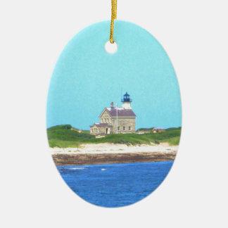 Block-Insel-Nordlicht Keramik Ornament
