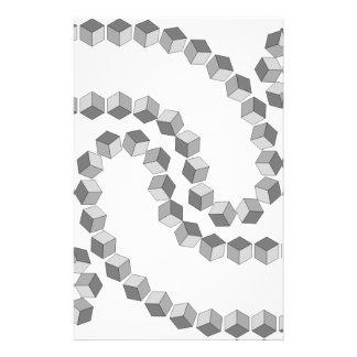 Block-Kette Briefpapier