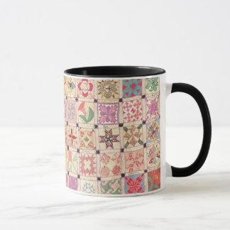Block-Schwarz-Griff-Tasse Tasse