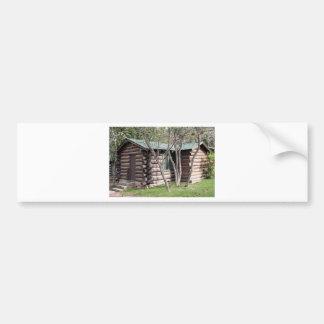 Blockhaus, Grand- Canyonnordkante, Arizona, USA Autoaufkleber