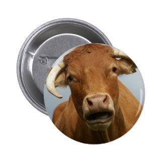 blöde kuh runder button 5,7 cm