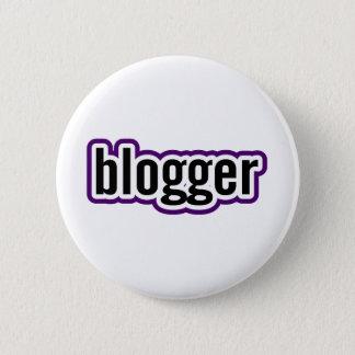 Blogger Runder Button 5,7 Cm