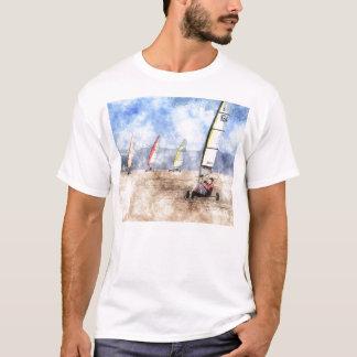 Blokart, das Wettbewerb läuft T-Shirt