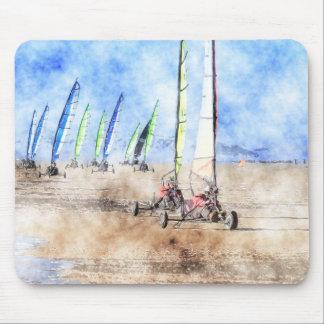 Blokart Racers on the Beach