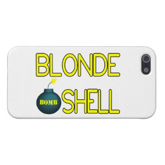 Blonde Bombe Hottie iPhone 5 Cover